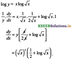 2nd PUC Basic Maths Question Bank Chapter 18 Differential Calculus 10