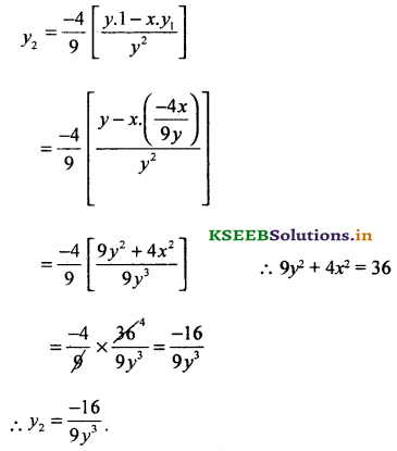 2nd PUC Basic Maths Question Bank Chapter 18 Differential Calculus 39