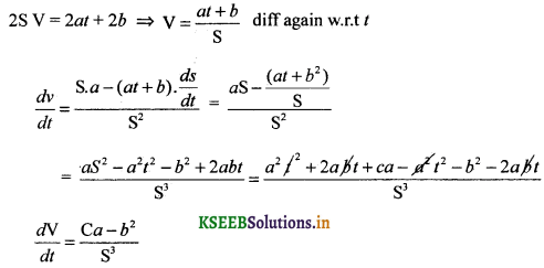 2nd PUC Basic Maths Question Bank Chapter 19 Differential Calculus 6