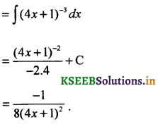 2nd PUC Basic Maths Question Bank Chapter 20 Indefinite Integrals 14