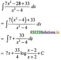 2nd PUC Basic Maths Question Bank Chapter 20 Indefinite Integrals 54