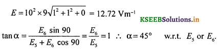 2nd PUC Physics Question Bank Chapter 1 Electric Charges and Fields 58