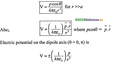 2nd PUC Physics Question Bank Chapter 2 Electrostatic Potential and Capacitance 30