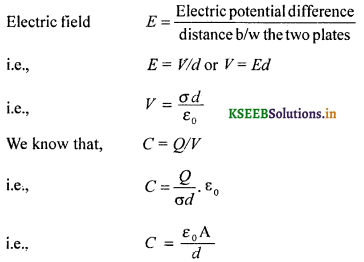 2nd PUC Physics Question Bank Chapter 2 Electrostatic Potential and Capacitance 47