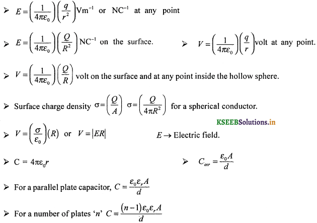 2nd PUC Physics Question Bank Chapter 2 Electrostatic Potential and Capacitance 57