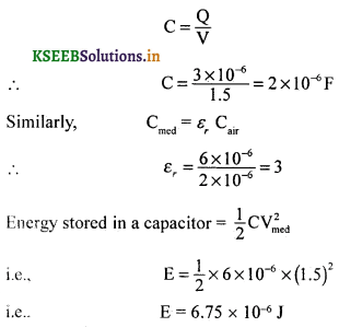 2nd PUC Physics Question Bank Chapter 2 Electrostatic Potential and Capacitance 78