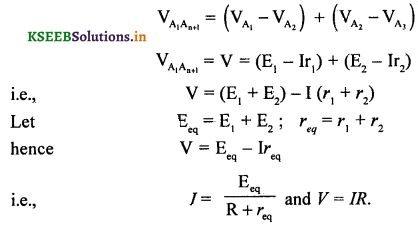 2nd PUC Physics Question Bank Chapter 3 Current Electricity 37
