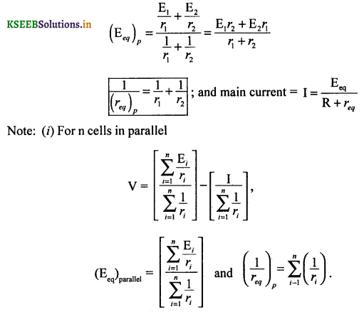 2nd PUC Physics Question Bank Chapter 3 Current Electricity 44