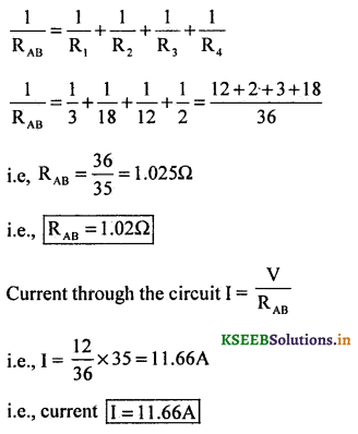 2nd PUC Physics Question Bank Chapter 3 Current Electricity 51