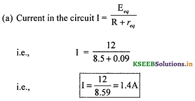 2nd PUC Physics Question Bank Chapter 3 Current Electricity 99