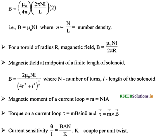 2nd PUC Physics Question Bank Chapter 4 Moving Charges and Magnetism 65