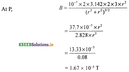 2nd PUC Physics Question Bank Chapter 4 Moving Charges and Magnetism 81