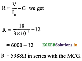 2nd PUC Physics Question Bank Chapter 4 Moving Charges and Magnetism 88