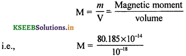 2nd PUC Physics Question Bank Chapter 5 Magnetism and Matter 30