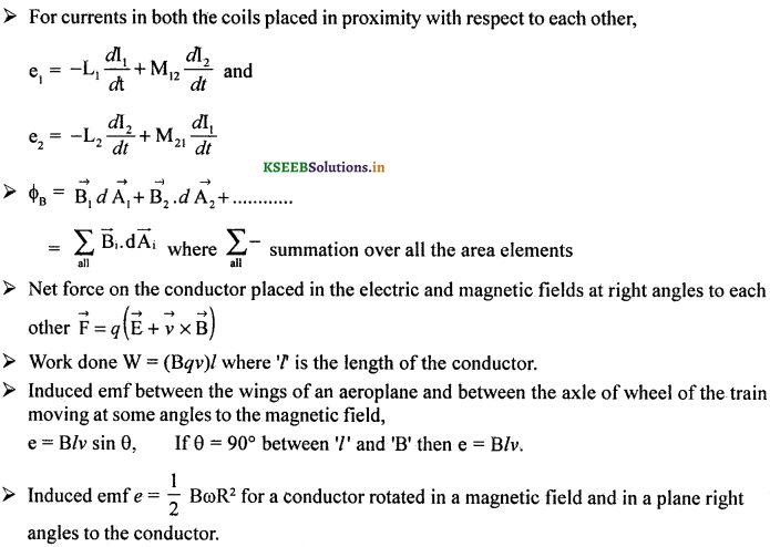 2nd PUC Physics Question Bank Chapter 6 Electro Magnetic Induction 21