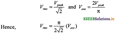 2nd PUC Physics Question Bank Chapter 7 Alternating Current 11
