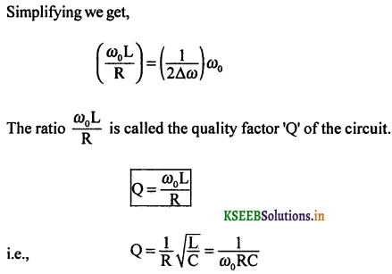 2nd PUC Physics Question Bank Chapter 7 Alternating Current 55