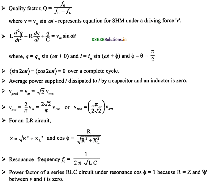 2nd PUC Physics Question Bank Chapter 7 Alternating Current 60