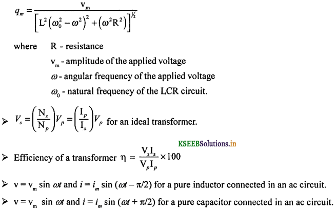 2nd PUC Physics Question Bank Chapter 7 Alternating Current 62