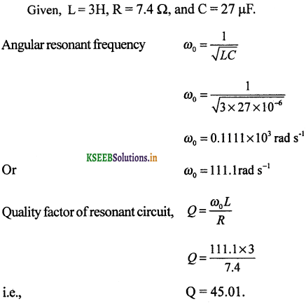 2nd PUC Physics Question Bank Chapter 7 Alternating Current 90