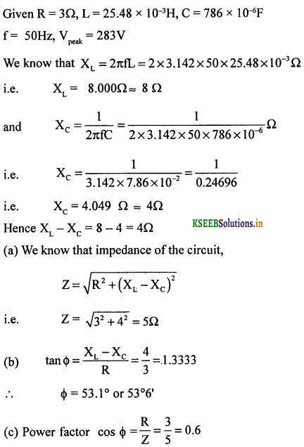 2nd PUC Physics Question Bank Chapter 7 Alternating Current 91