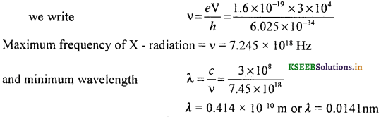 2nd PUC Physics Question Bank Chapter 11 Dual Nature of Radiation and Matter 30