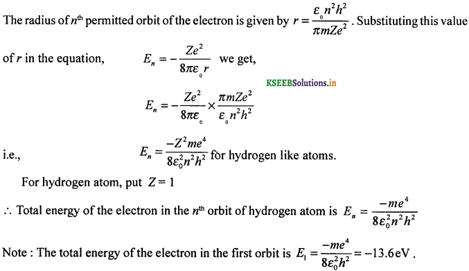 2nd PUC Physics Question Bank Chapter 12 Atoms 16