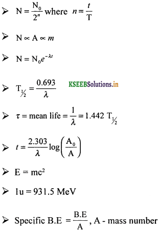 2nd PUC Physics Question Bank Chapter 13 Nuclei 19