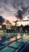 6 вечера в бассейне
