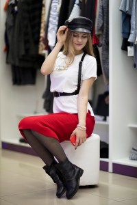 Picture of Girl shopping fashionist blogger influence