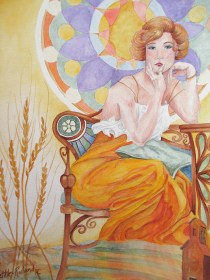 Harvest- Beauty Series, SOLD