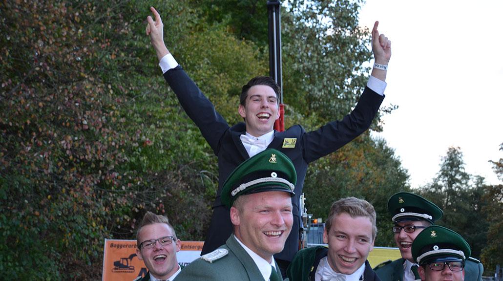 Martin Willmes ist Jungschützenkönig des Kreisschützenbundes