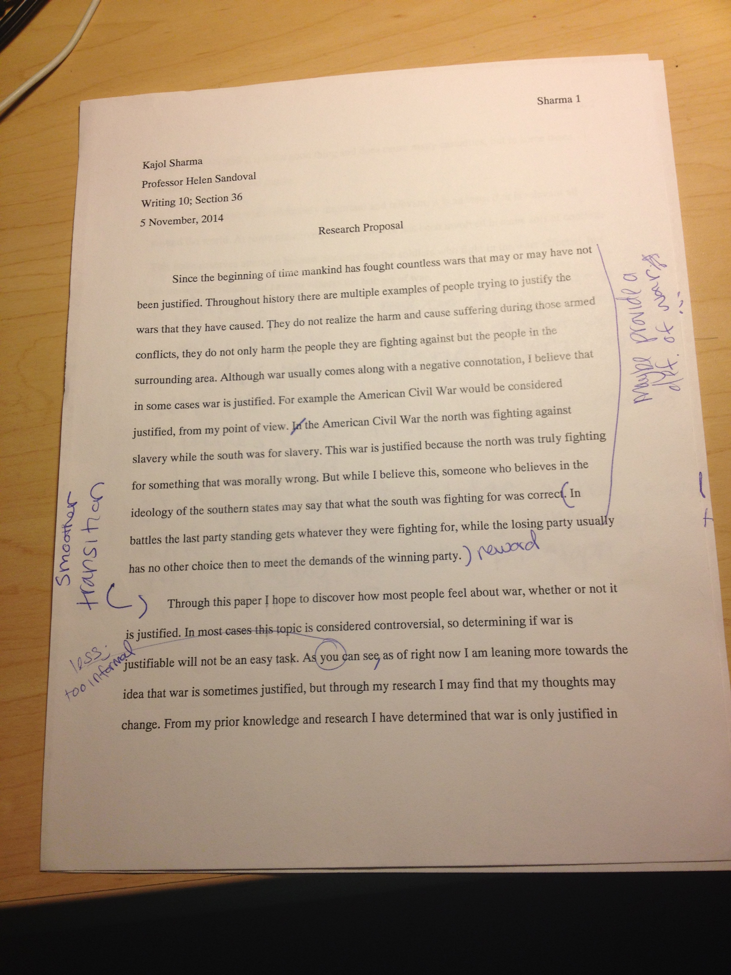 Editing Checklist For Research Papers