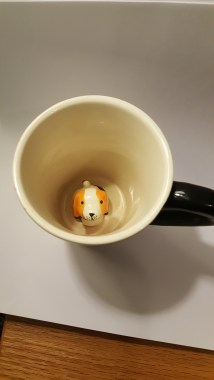 Mug with figurine inspiration