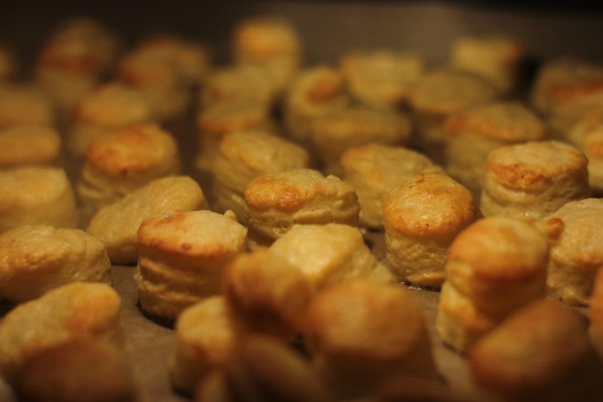 Węgierskie słone ciastka - Pogasze