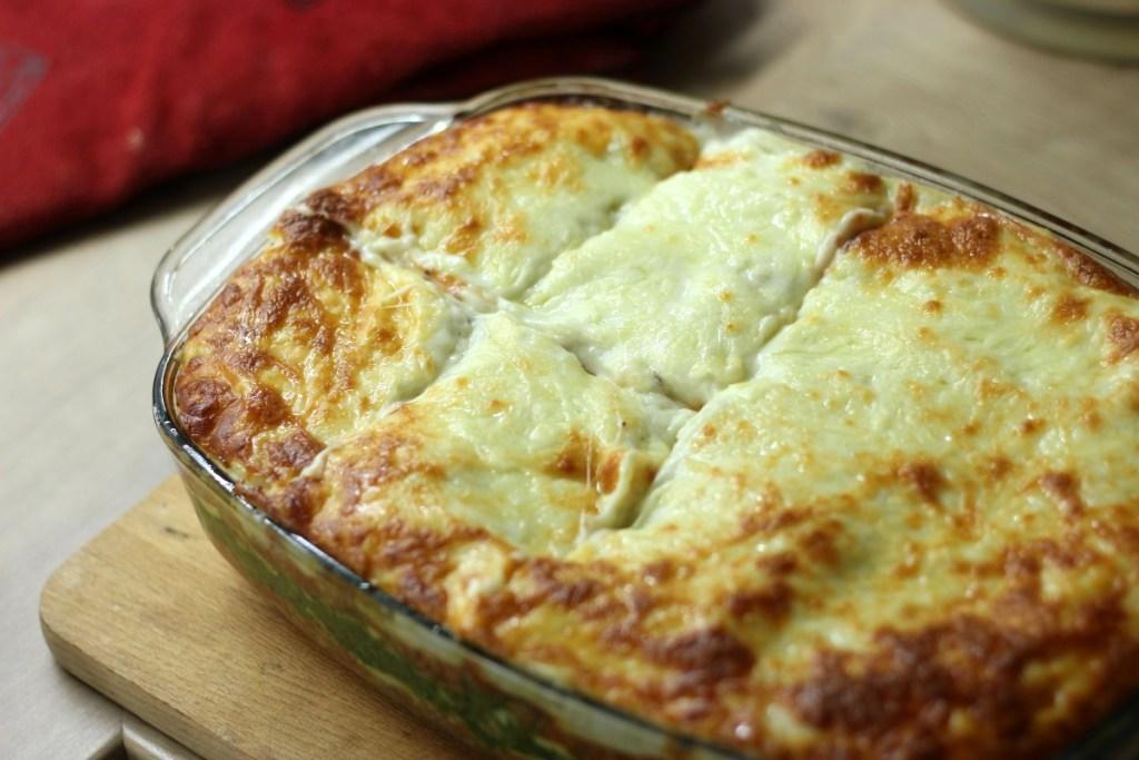 Gotowa lasagne