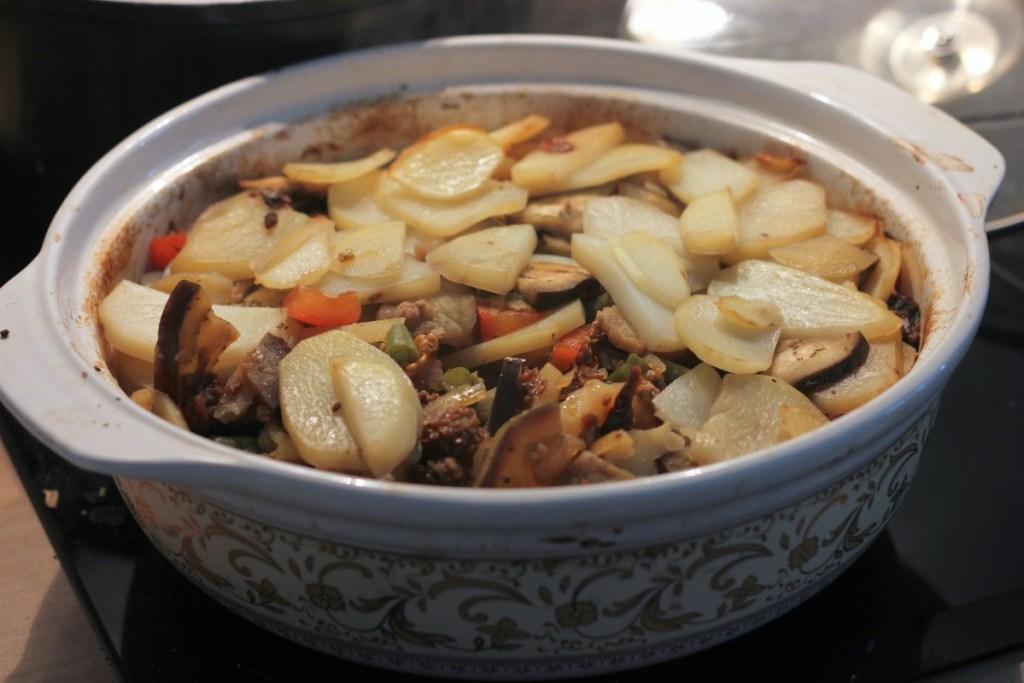 Czanachi - gotowe danie