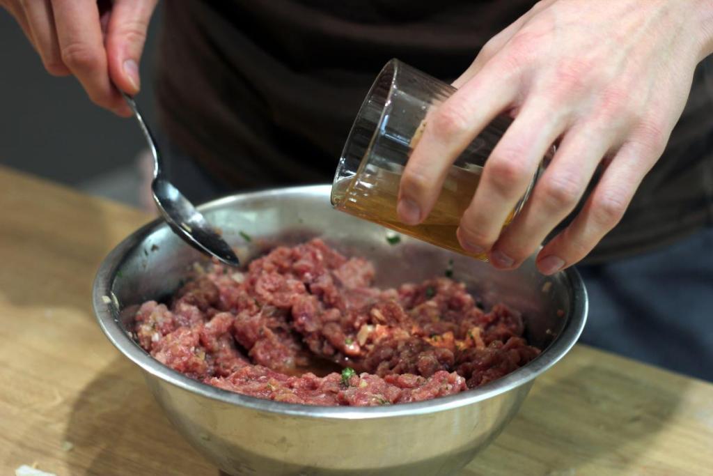 Nasączanie mięsa