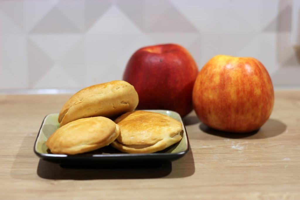 Pieczone racuchy z jabłkami