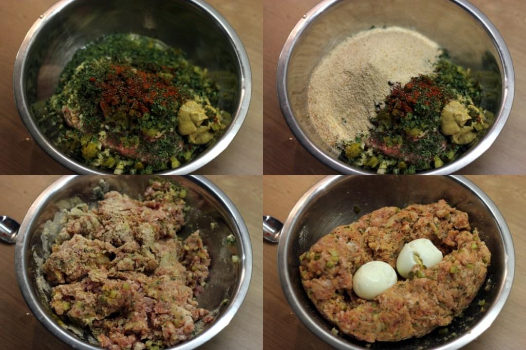 Przygotowanie mięsa na Hackbraten