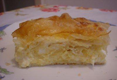 Kuchnia serbska - Gibanica