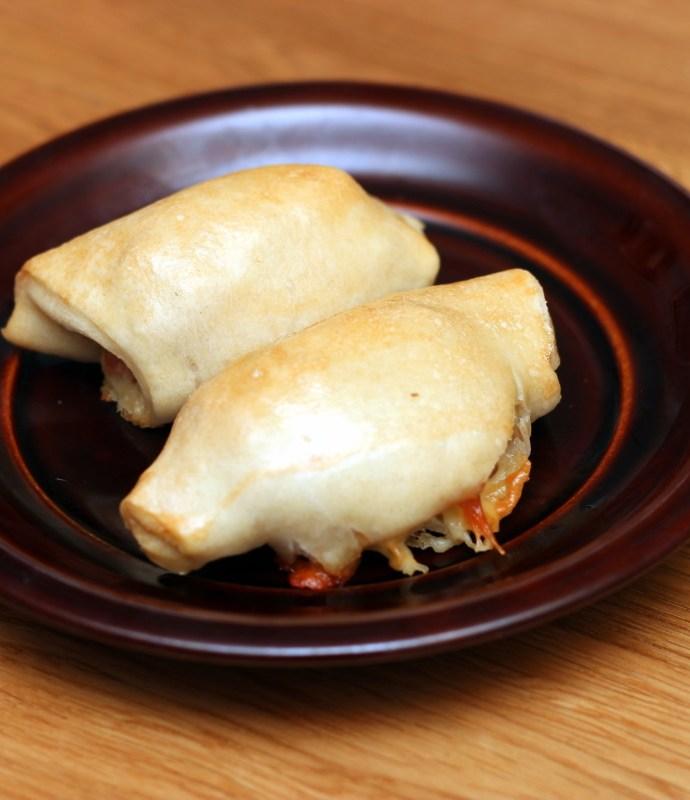 Rogaliki z szynką i serem