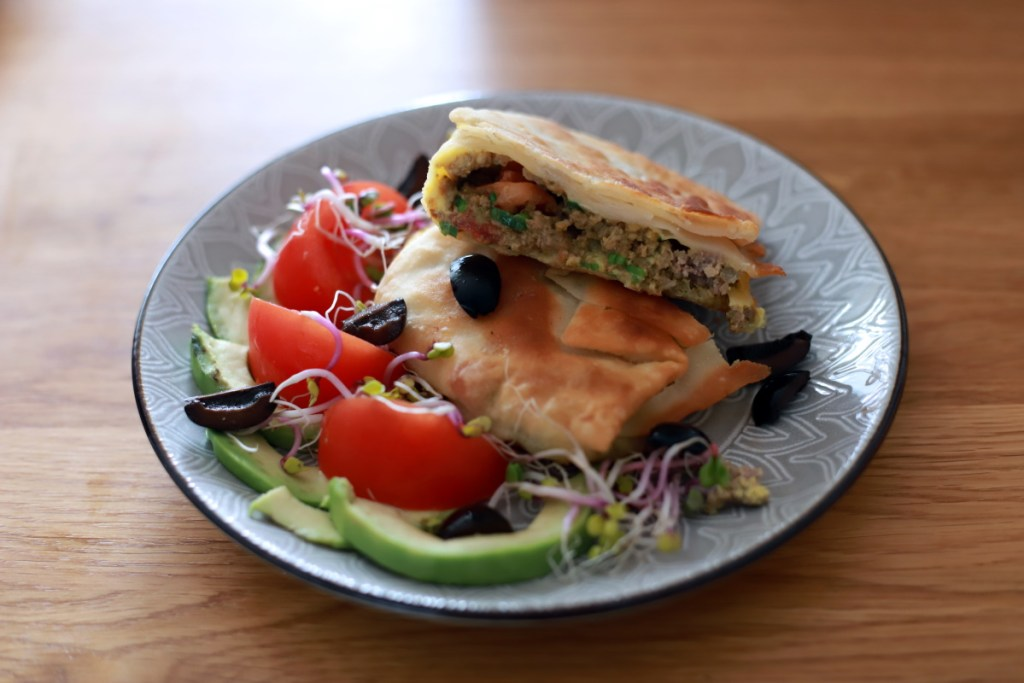 Mutabbaq - gotowe danie