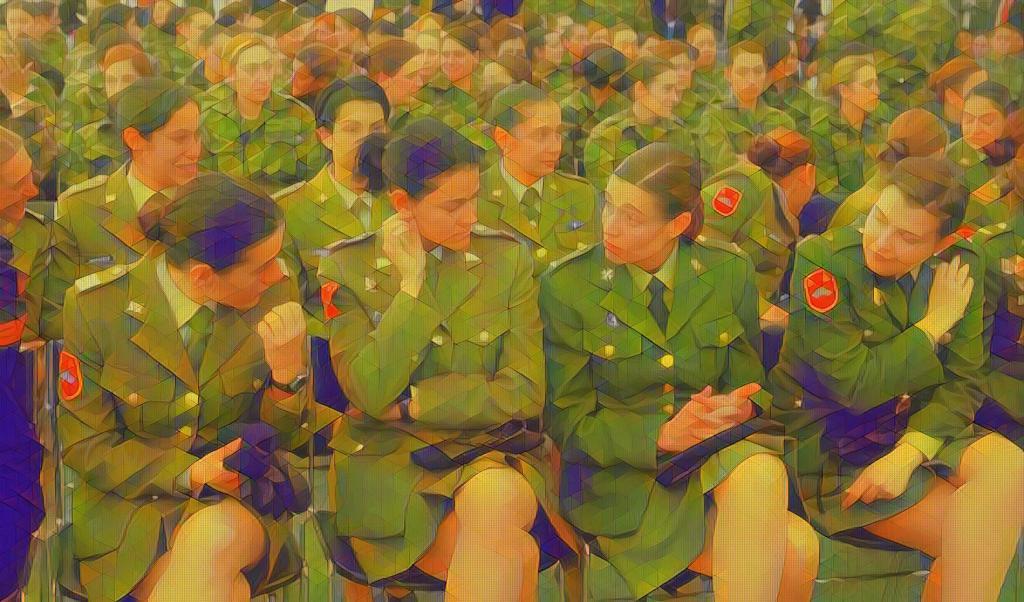 """El ejército de la """"Señorita Pepis"""""""