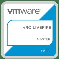 vRO Livefire Master