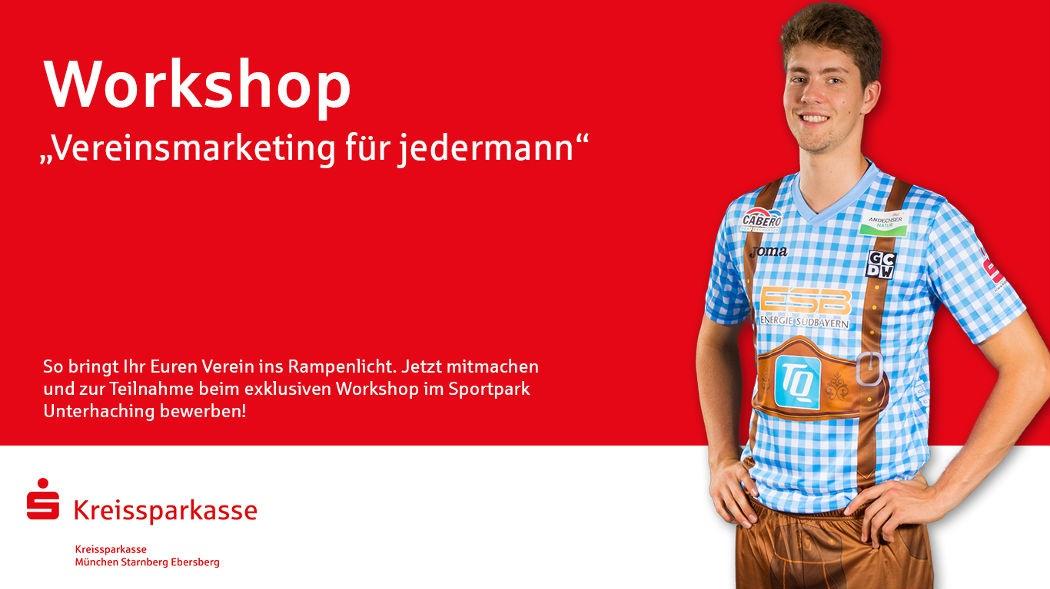 Workshop für Vereinsmarketing in Unterhaching
