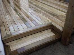 Premium pine deck