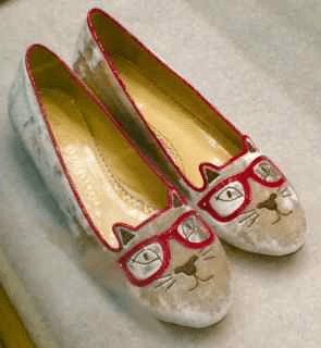 Bob Ellis Shoes Charlotte Olympia slippers