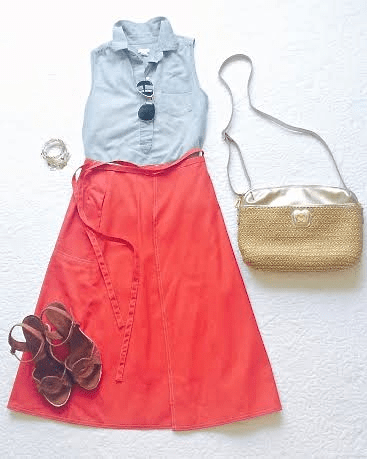 Labor Day Weekend dinner outfit