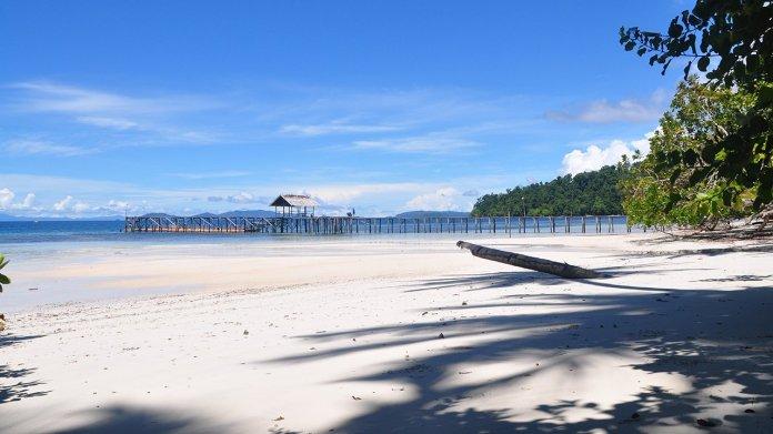 Pantai Waiwo Salah Satu Surga Snorkeling dan Diving di ...